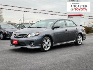 Used 2011 Toyota Corolla XRS for sale in Ancaster, ON
