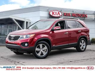 Used 2013 Kia Sorento EX Luxury V6 EX LUX AWD/GOOD CONDITION/LEATHER/PANORAMIC SUNROOF/CAMERA/HEATED SEATS for sale in Burlington, ON