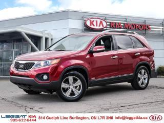 Used 2013 Kia Sorento EX LUX AWD/GOOD CONDITION/LEATHER/PANORAMIC SUNROOF/CAMERA/HEATED SEATS for sale in Burlington, ON