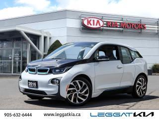 Used 2016 BMW i3 Base / UPTO 130 KMS RANGE/NAVIGATION/SENSORS for sale in Burlington, ON