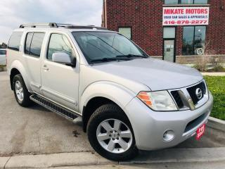 Used 2008 Nissan Pathfinder Back Up Camera~Power Seats & Sunroof~7 Passengers for sale in Rexdale, ON