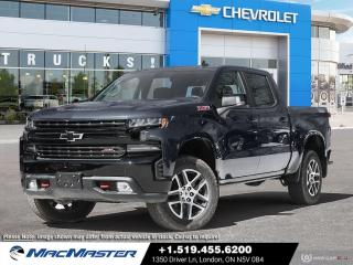 New 2021 Chevrolet Silverado 1500 LT Trail Boss V8 | 4X4 | REMOTE START | ALL-WEATHER FLOOR LINERS | HD REAR VISION CAMERA | ADVANCED TRAILERING PKG for sale in London, ON