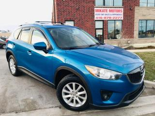 Used 2013 Mazda CX-5 GS - B.UP CAM, B.T., POWER HEATED SEATS, SUNROOF for sale in Rexdale, ON