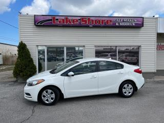 Used 2015 Kia Forte LX LOCAL TRADE for sale in Tilbury, ON