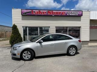 Used 2015 Chevrolet Cruze 1LT LOCAL TRADE for sale in Tilbury, ON