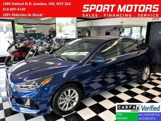 Used 2019 Hyundai Sonata Essential+ApplePlay+Camera+BlindSpot+CLEAN CARFAX for sale in London, ON