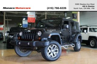 Used 2013 Jeep Wrangler RUBICON 4WD - NAVIGATION|HEATED SEATS|ROUGHCOUNTRY for sale in North York, ON