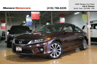Used 2014 Honda Accord EX-L V6 - LEATHER|SUNROOF|NAVI|BACKUP|FCW|LDW for sale in North York, ON