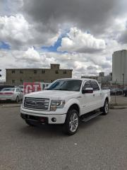 Used 2013 Ford F-150 Limited|Red Interior| $0 DOWN - EVERYONE APPROVED! for sale in Calgary, AB