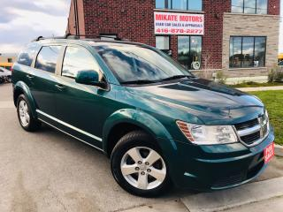 Used 2009 Dodge Journey SXT~7 Passengers~Power Seats~B.T.~Clean CarFax for sale in Rexdale, ON