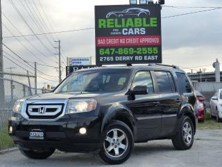 Used 2009 Honda Pilot TOURING,4WD,NAVIGATION,LEATHER,BACKCAM,NO-ACCIDENT for sale in Mississauga, ON