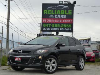 Used 2010 Mazda CX-7 GT,AWD,LEATHER,BACKUP-CAM,NAVIGATION,CERTIFIED, for sale in Mississauga, ON