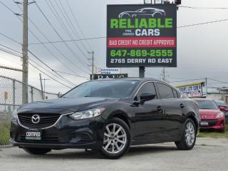 Used 2015 Mazda MAZDA6 2.5 SKYACTIV,CERTIFIED,HEATED SEATS,ALLOY RIMS, for sale in Mississauga, ON