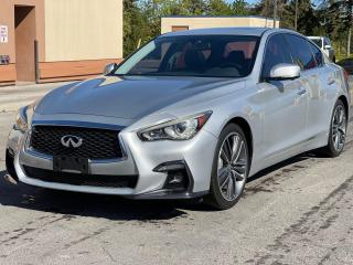Used 2014 Infiniti Q50 Sport  Navigation /360 Camera/Sunroof for sale in North York, ON