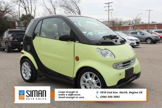 Used 2006 Smart fortwo Passion WHOLESALE for sale in Regina, SK