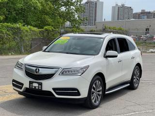 Used 2016 Acura MDX AWD NAVIGATION /SUNROOF /CAMERA /7Pass for sale in North York, ON