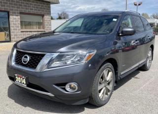 Used 2014 Nissan Pathfinder Hybrid  Platinum  Navigation /Pano Roof/DVD for sale in North York, ON