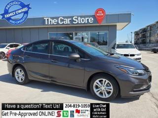 Used 2016 Chevrolet Cruze LT SUNROOF heat Seats, Rear Cam, NO ACCIDENTS for sale in Winnipeg, MB
