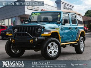 Used 2019 Jeep Wrangler UNLIMITED SPORT for sale in Niagara Falls, ON