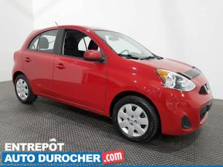 Used 2015 Nissan Micra S AUTOMATIQUE - ÉCONOMIQUE - BLUETOOTH - A/C for sale in Laval, QC