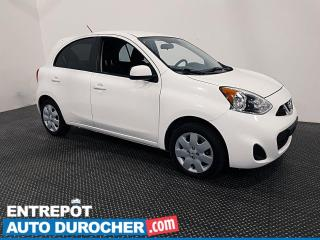 Used 2016 Nissan Micra SV ÉCONOMIQUE - AUTOMATIQUE - AIR CLIMATIQUE for sale in Laval, QC
