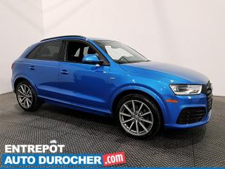Used 2017 Audi Q3 Progressiv - Navigation - Bluetooth - Climatiseur for sale in Laval, QC