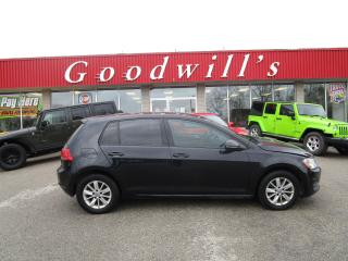 Used 2015 Volkswagen Golf TRENDLINE! STANDARD TRANSMISSION! for sale in Aylmer, ON