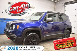 Used 2018 Jeep Renegade Trailhawk DUAL REMOVABLE SUNROOF |BLIND SPOT | NAVIGATION | for sale in Ottawa, ON