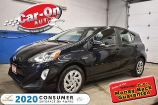 Used 2016 Toyota Prius c UPGRADE B |HYBRID | REAR CAM | CLIMATE CONTROL for sale in Ottawa, ON