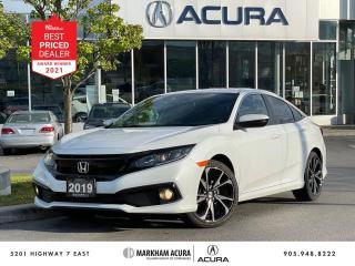 Used 2019 Honda Civic Sport Sedan for sale in Markham, ON