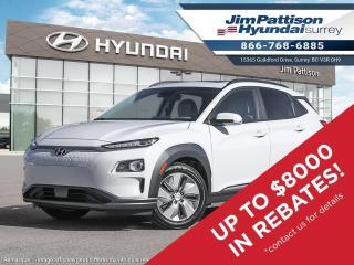 New 2021 Hyundai KONA EV Ultimate for sale in Surrey, BC