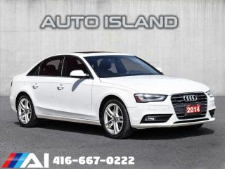 Used 2014 Audi A4 TECHNIC**AUTOMATIC**BROWN LEATHER for sale in North York, ON