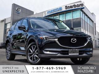 Used 2017 Mazda CX-5 GT AWD LEATHER SUNROOF NAV 1 OWNER for sale in Scarborough, ON