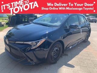 New 2021 Toyota Corolla HATCHBACK CVT Corolla Hatchback CVT APX 00 for sale in Mississauga, ON