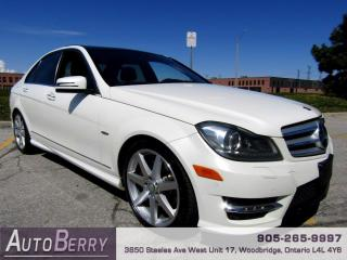 Used 2012 Mercedes-Benz C-Class C350 4MATIC Sport Sedan for sale in Woodbridge, ON