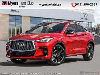 New 2022 Infiniti QX 55 SENSORY AWD  - Head-Up Display for sale in Ottawa, ON