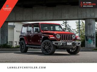 New 2021 Jeep Wrangler Unlimited Sahara 4xe  - Leather Seats for sale in Surrey, BC