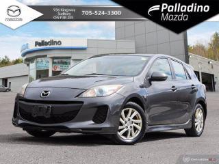Used 2012 Mazda MAZDA3 GS-SKY - SELF CERTIFY for sale in Sudbury, ON