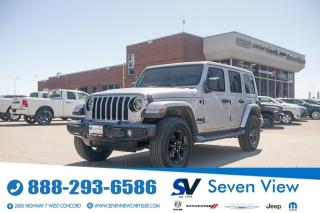 Used 2020 Jeep Wrangler Unlimited Sahara ALTITUDE PACKAGE/LEATHER/NAVI/TEC for sale in Concord, ON