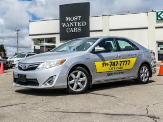 Used 2012 Toyota Camry XLE|HYBRID|SUNROOF|LEATHER|CAMERA AS TRADED - YOU CERTIFY YOU SAVE!!! for sale in Kitchener, ON