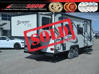 Used 2013 Forest River Surveyor SV235RKS 30 Ft w/ Slide & Bunk Beds, Sleep 10, Only 4700 Lbs!! for sale in Winnipeg, MB
