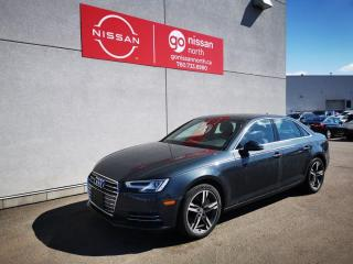 Used 2017 Audi A4 Technik / 2.0 TFSI Quattro / Leather / Loaded / Heated Seats for sale in Edmonton, AB