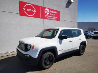Used 2016 Jeep Renegade Sport / 4WD / Used Jeep Dealership / 2.4L / Push Button Start for sale in Edmonton, AB