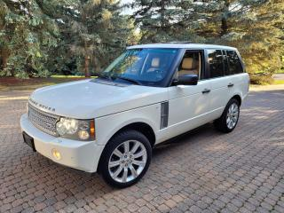Used 2008 Land Rover Range Rover V8, Full Size, AWD, Navi. Camera, warranty availab for sale in Toronto, ON