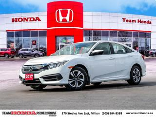 Used 2017 Honda Civic LX for sale in Milton, ON