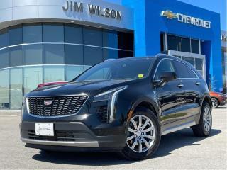 Used 2020 Cadillac XT4 Premium Luxury AWD PREMIUM LUXURY HEATED STEERING WHEEL TECH PKG for sale in Orillia, ON