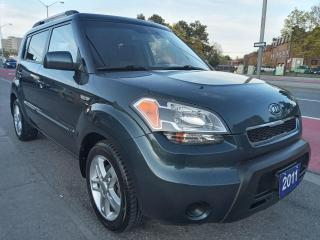 Used 2011 Kia Soul 2U-EXTRA CLEAN-149K-4CYL-BLUETOOTH-USB-AUX-ALLOYS for sale in Scarborough, ON