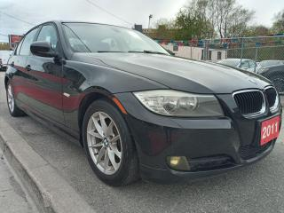 Used 2011 BMW 3 Series 323i-EXTRA CLEAN-SUNROOF-BLUETOOTH-AUX-ALLOYS for sale in Scarborough, ON