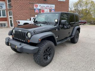 Used 2009 Jeep Wrangler Rubicon Unlimited/4X4/NO ACCIDENTS/SAFETY INCLUDED for sale in Cambridge, ON