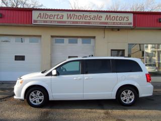 Used 2018 Dodge Grand Caravan SXT CREW PLUS PREFERRED for sale in Edmonton, AB